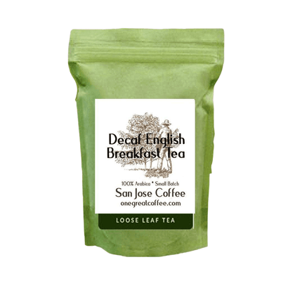 Decaf English Breakfast Tea-Loose Leaf Tea-One Great Coffee