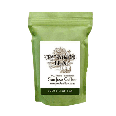 Formosa Oolong Tea-Loose Leaf Tea-One Great Coffee