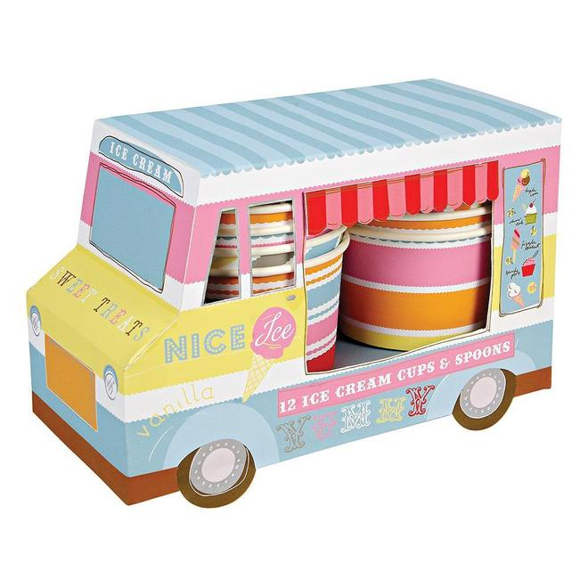 Ice Cream Van Ice Cream Cups