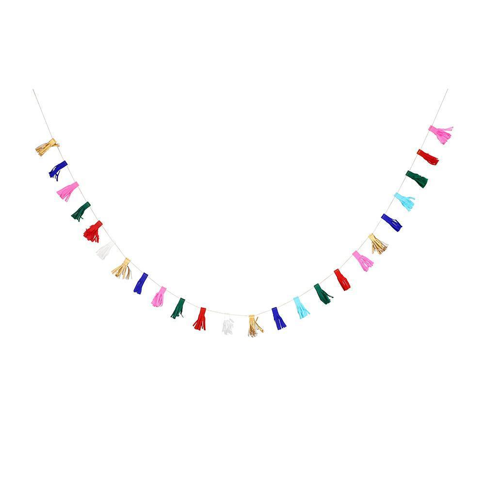 Multicolour Tassel Mini Garland