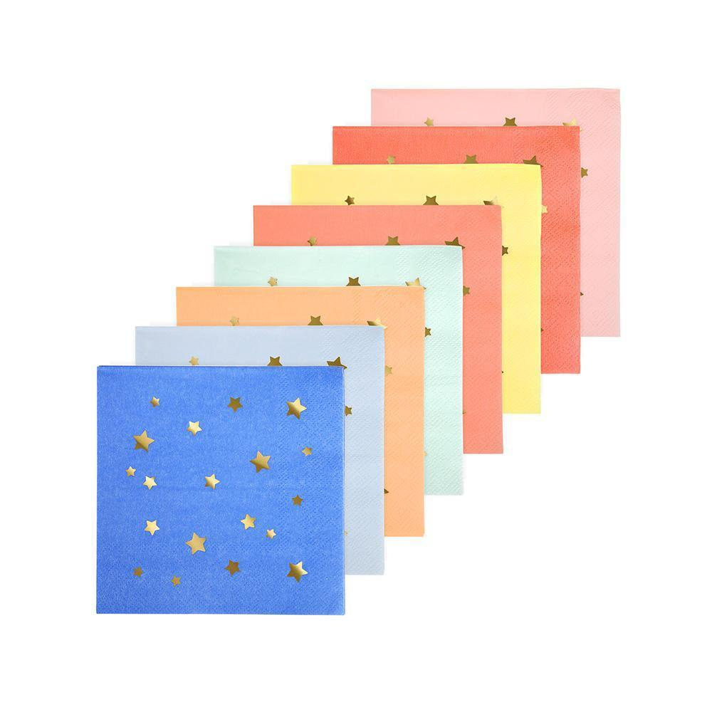 Jazzy Star Napkins (small)