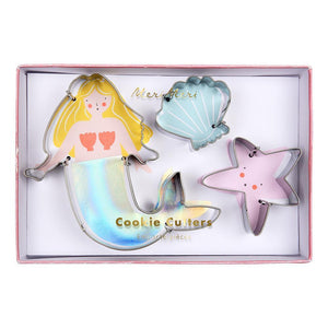 Mermaid Cookie Cutters