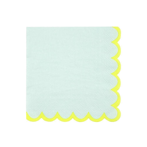 Mint Pastel Napkins (small)