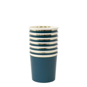Dark Teal Tumbler Cups