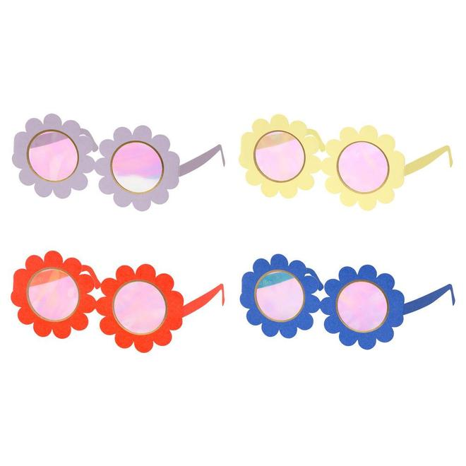 Flower Wereable Glasses