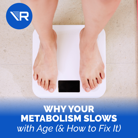 Why Your Metabolism Slows with Age (& How You Can Fix It)