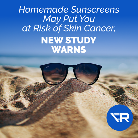 DIY Sunscreens May Put You at Risk of Skin Cancer, New Study Warns