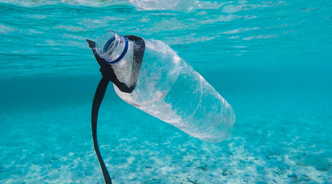 Water plastic pollution