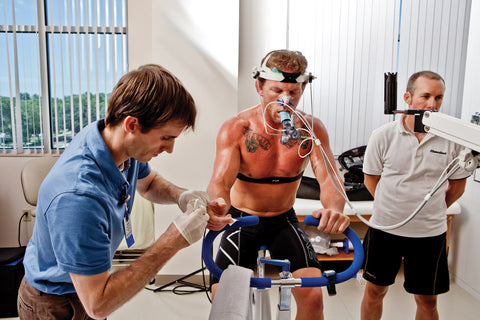 Athlete molecular hydrogen research