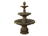 Classical Finial Small Three-Tier Fountain