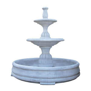 Small Contemporary Tier Fountain with Pool