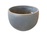 Dark Grey Small Fibercement Bowl GA30-1496