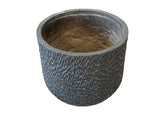 Round Rippled Pot GA30-2029