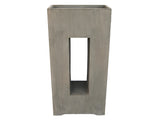 Contemporary Hole Rectangular Planter GA30-489
