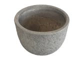 Textured Grey Fibercement Bowl GA30-978