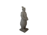 Grey Tang Warrior Fibercement Statue GA40-828