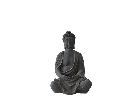 Sitting Small Buddha Fibercement Statue GA40-966