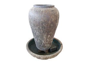 Large Ceramic Jar Fountain LT003-2195
