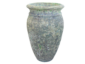 Ancient Tall Lipped Vase XL