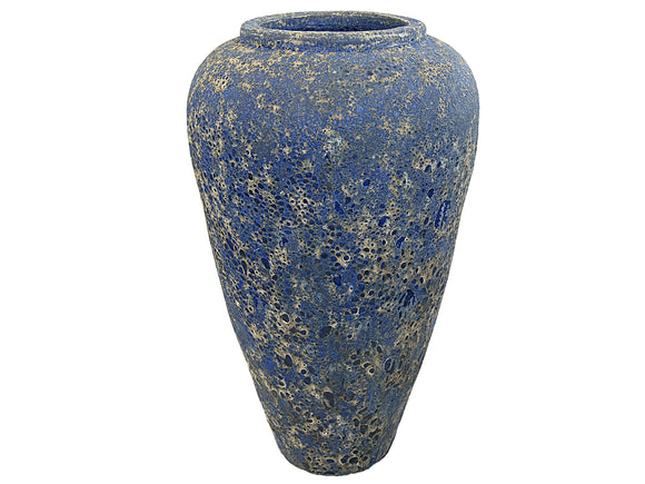 Ancient Tall Blue Vase