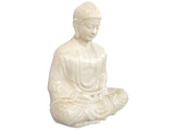 Ceramic White Seated Buddha Statue LT005-4180