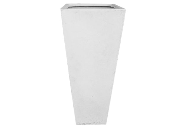 Poly Tall Square White Pot XL LT008-4844