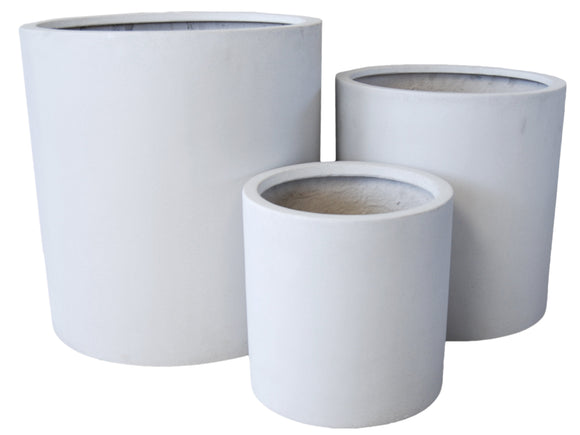 Poly Cylinder Indoor Pot LT008-5628