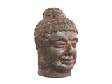 Ceramic Maroon Buddha Head LT019-9575