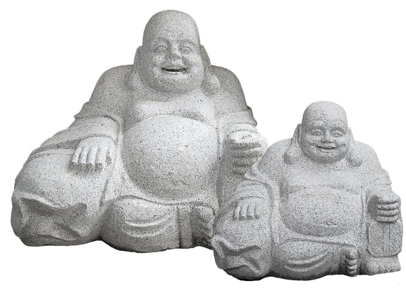 Granite Smiling Buddha