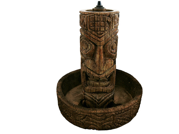Tiki Column Fountain