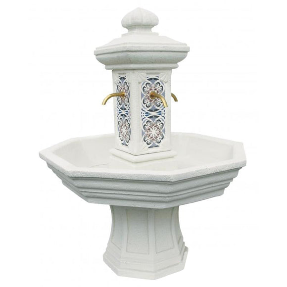 Adonis Snow Mosaic Tap Fountain