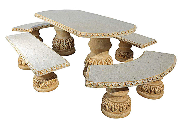 Comedor Hojas Oval Table Set