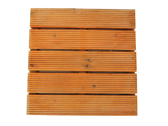 Striped Wooden Decking 30x30