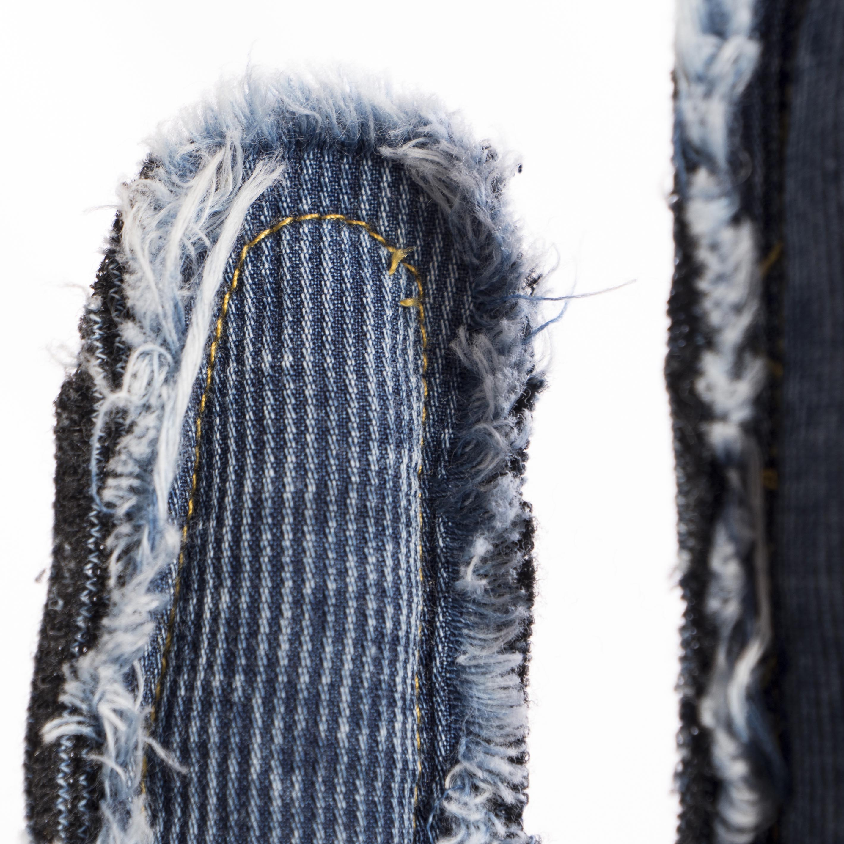 cactus denim doble cara decorativo con maceta