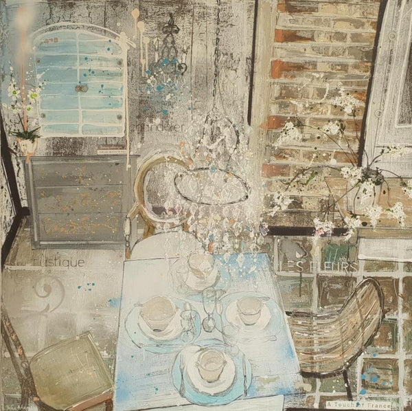 A Touch of France interior space Julia Adams