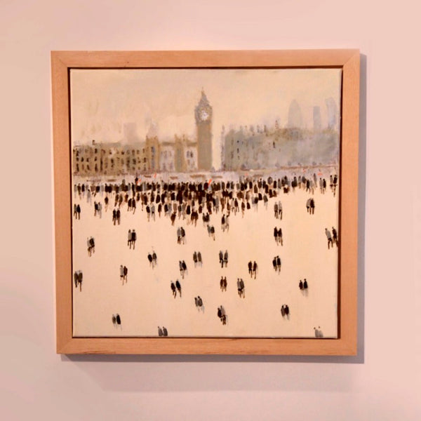 David Wheeler Big Ben Wychwood art