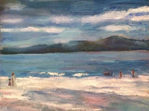Eleanor Woolley | The Beach | Impressionistic | Beach Painting