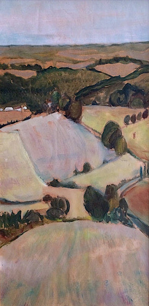 EleanorWoolley | The valley | Impressionistic landscape