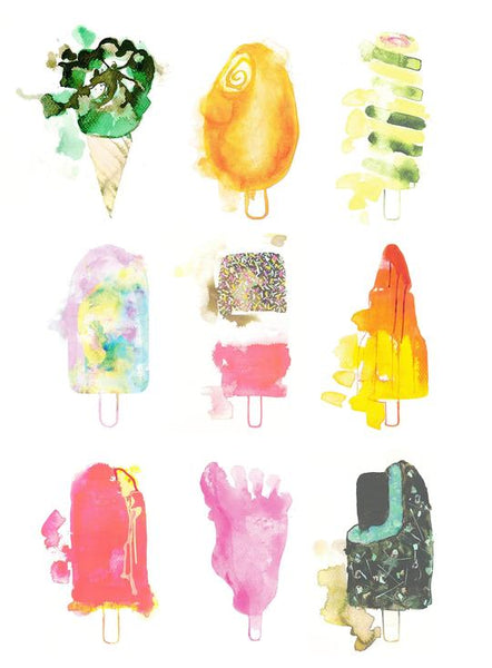 Gavin Dobson-Ices that are nicest-Limited Edition Print