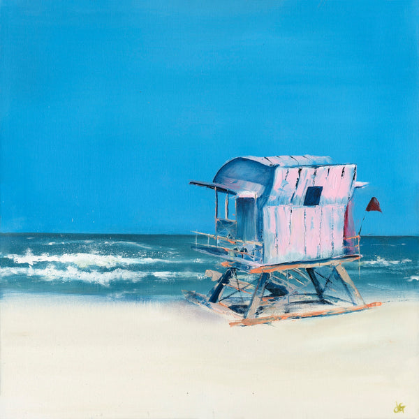 Janette George Beach Hut, Miami Beach Wychwood Art