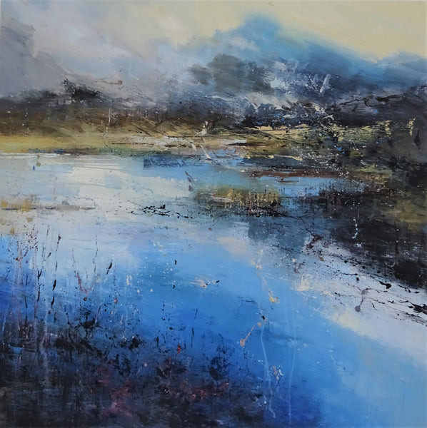 Landscape painting buy online Claire Wiltsher