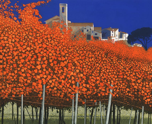 Phil-Greenwood-Art-Turner-Barnes-Gallery-Autumn-Vines-Etching-857x700