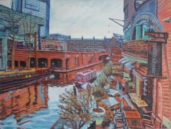 Robert Barlow Reflections On Brindley Place Wychwood Art.jpeg