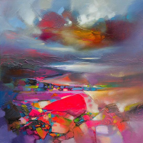 Scott Naismith Above and Below II Scottish landscape paintings