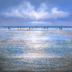 Wet Beach limited edition print by Michael Sanders