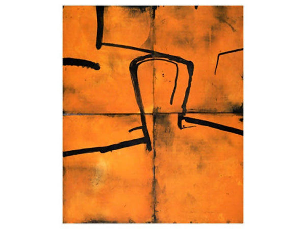 Head on Orange, Graham Fransella, Limited Edition Etching, Abstract