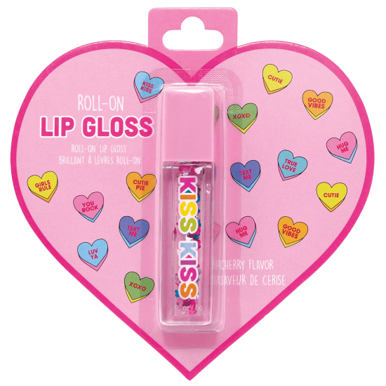 Heart Roll On Lip Gloss