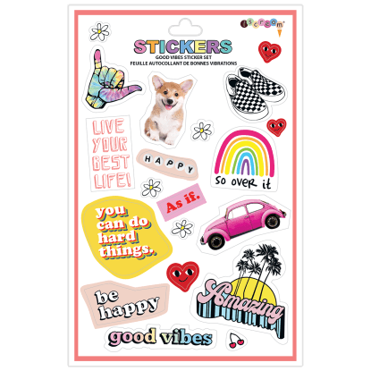 Good Vibes Vinyl stickers