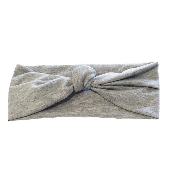 Solid Grey Baby Wrap by Headbands of Hope