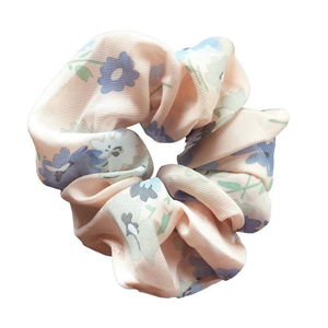 PINK FLORAL SCRUNCHIE BY HEADBANDS OF HOPE